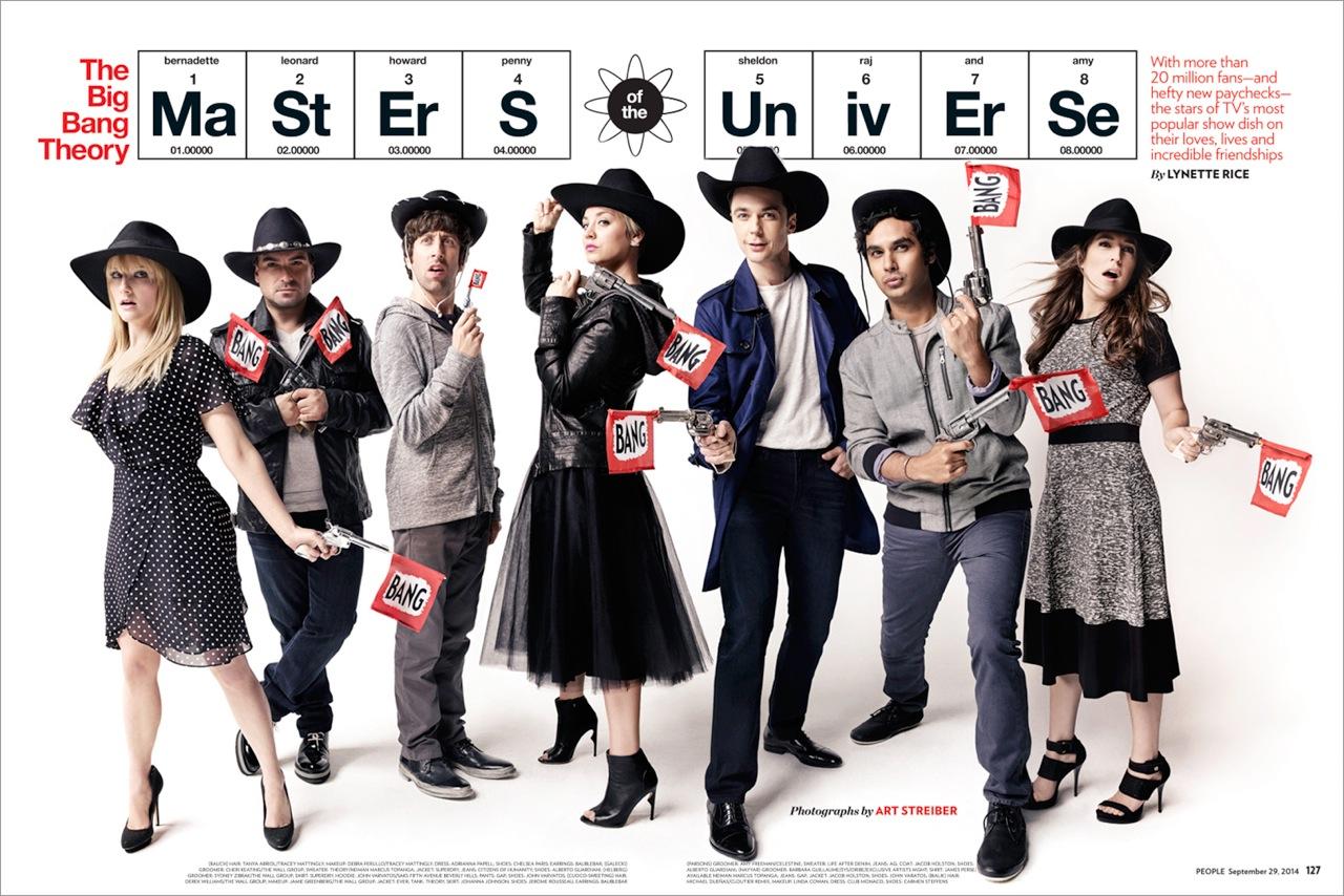 Image result for big bang theory magazine