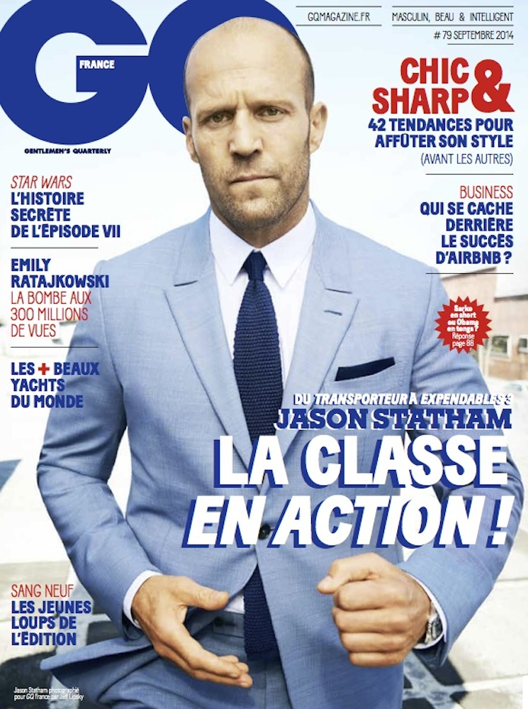 Jeff Lipsky Photographs Actor Jason Statham For The Cover