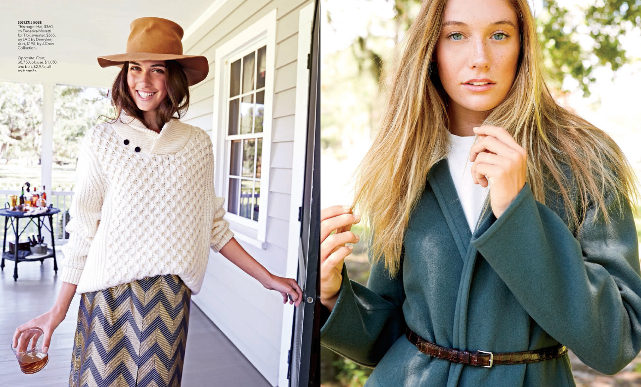 Melanie Acevedo photographs A Weekend in the Country fashion