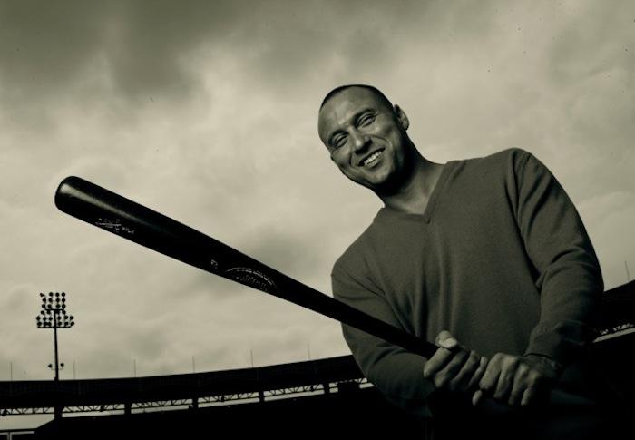 Walter Iooss_Derek Jeter with bat