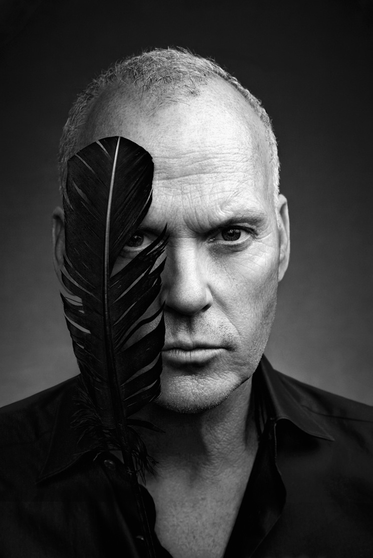 art streiber photographs  u201cbirdman u201d star michael keaton for