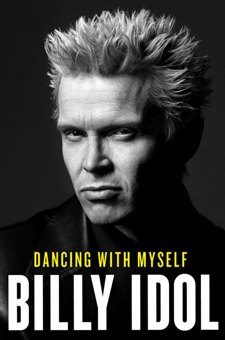 Michael Muller_Billy Idol book cover