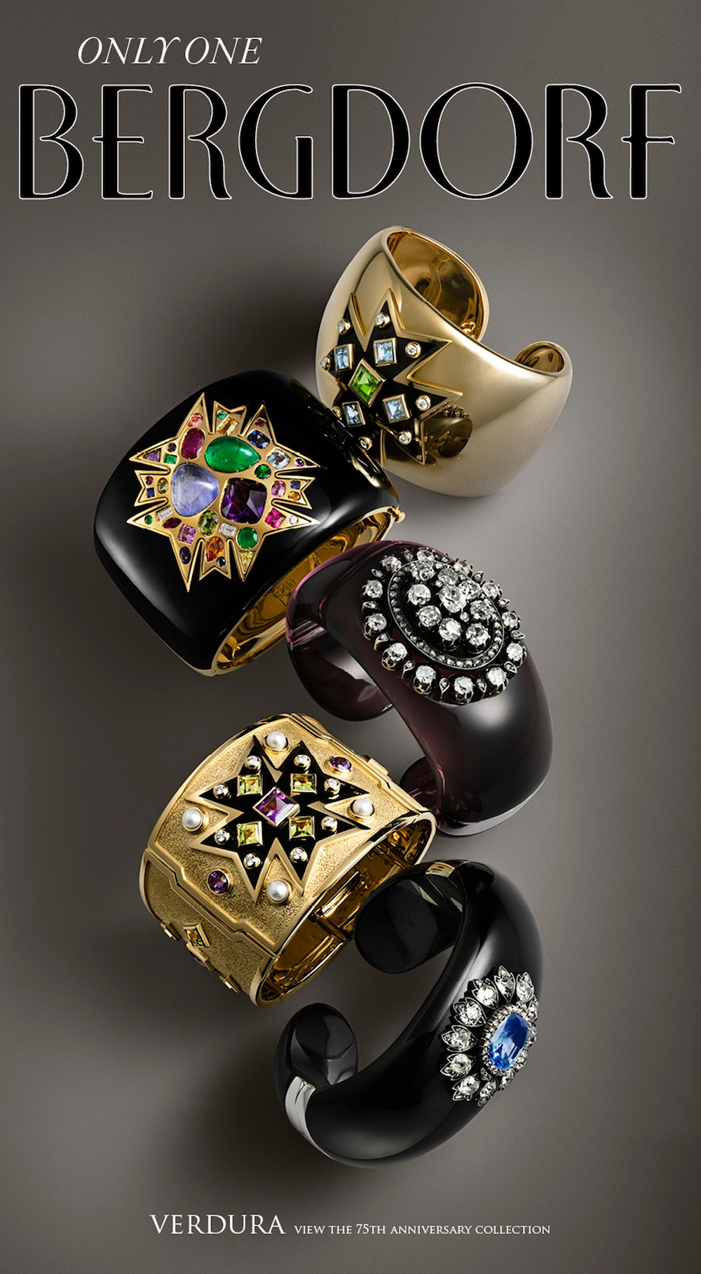 Nigel Cox photographs designs by luxury jewelry brand Verdura for