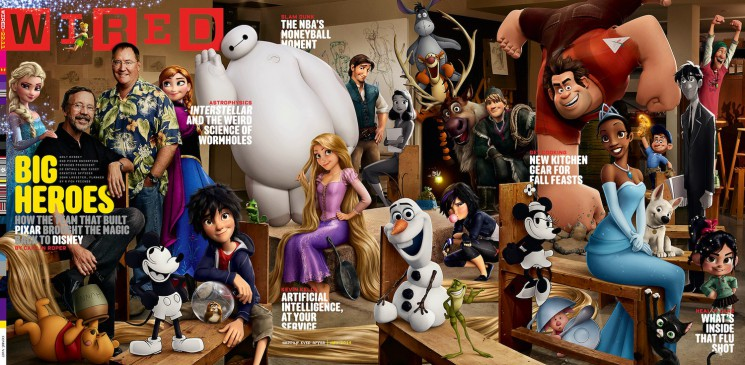 Art Streiber_Wired_Disney cover