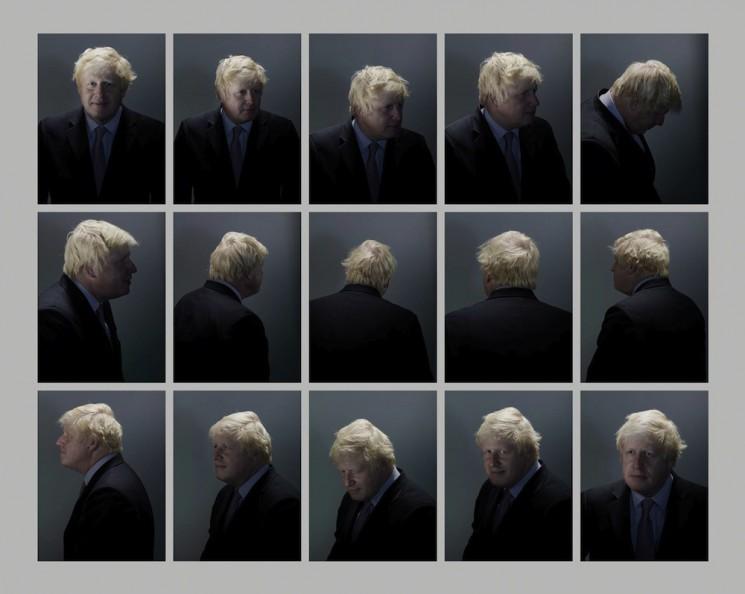 Nadav Kander_Boris Johnson grid