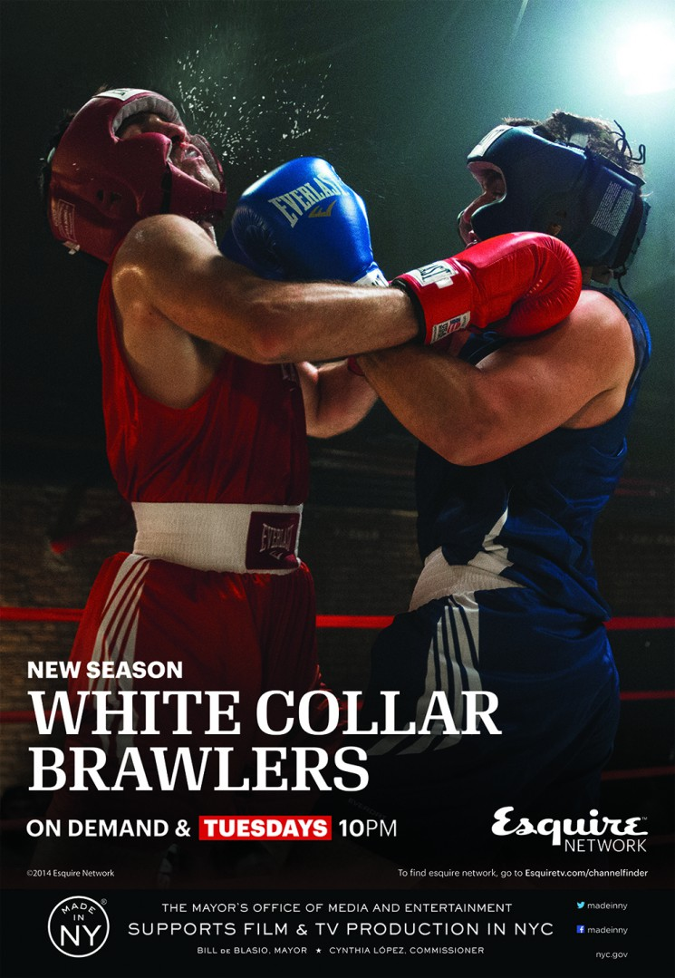 Walter Iooss_White Collar Brawlers season 2