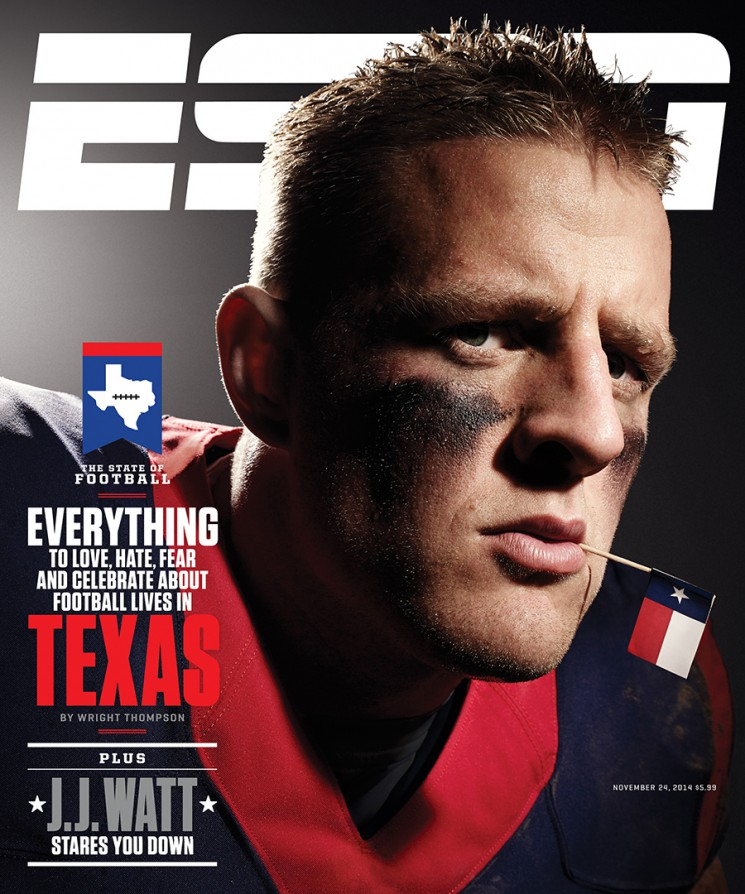 Art Streiber_JJ Watt cover