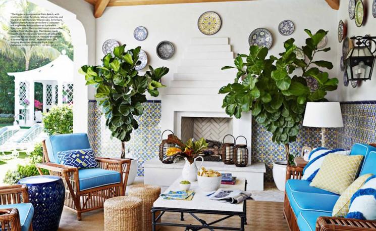 Melanie Acevedo Photographs Whimsically Designed Palm Beach Home For House Beautiful Stockland