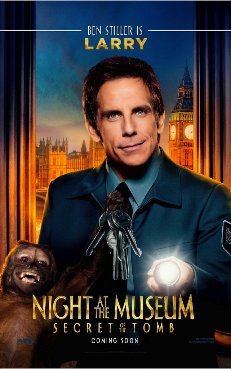 Michael Muller_Night at the Museum_Ben Stiller