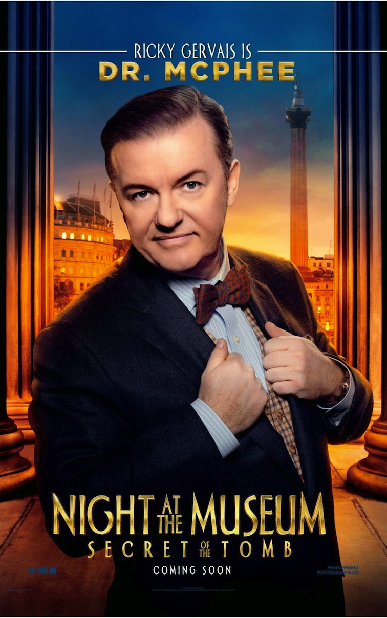 Michael Muller_Night at the Museum_Ricky Gervais