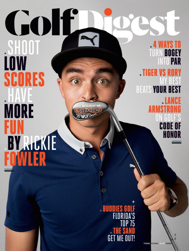 Walter Iooss_Rickie Fowler cover