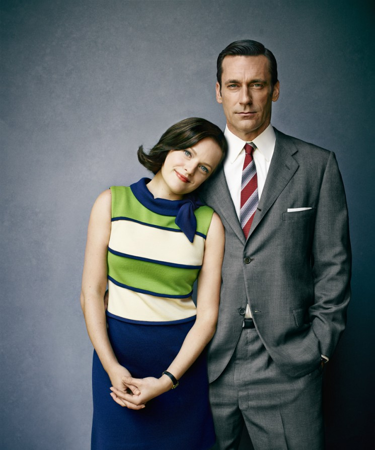Jeff Lipsky_Elisabeth Moss and Jon Hamm
