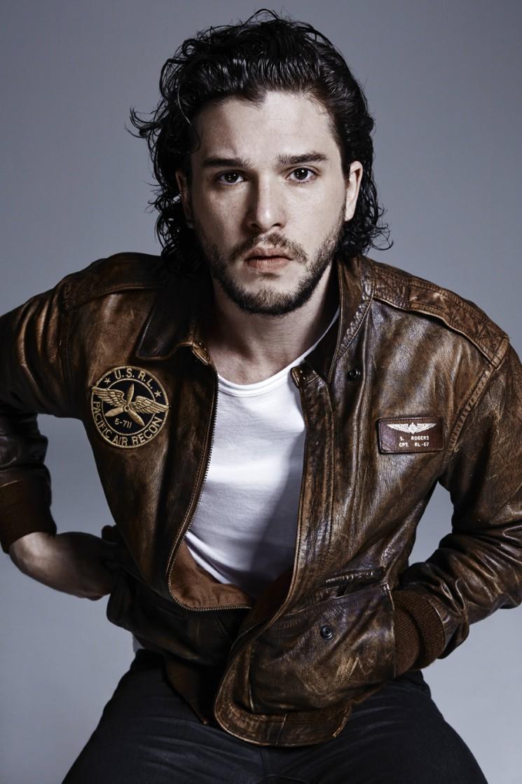 Nino Muñoz_Kit Harington brown jacket