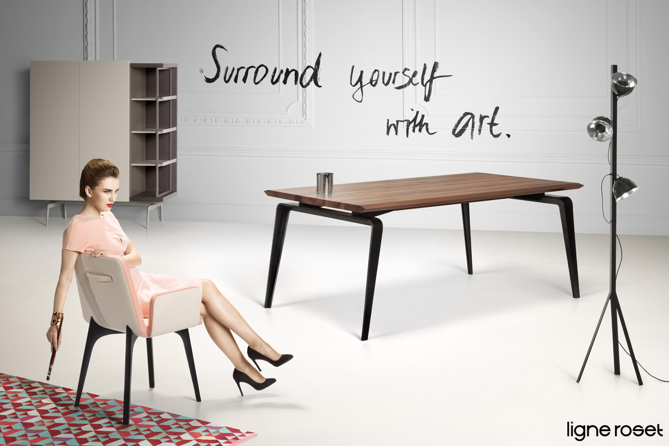 uwe duettmann shoots campaign for french furniture company. Black Bedroom Furniture Sets. Home Design Ideas