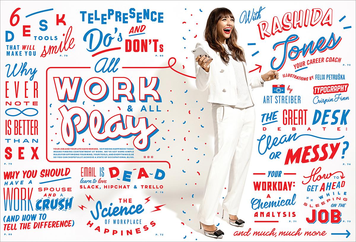 "Art Streiber on photographing Rashida Jones for Wired\'s ""All Work ..."