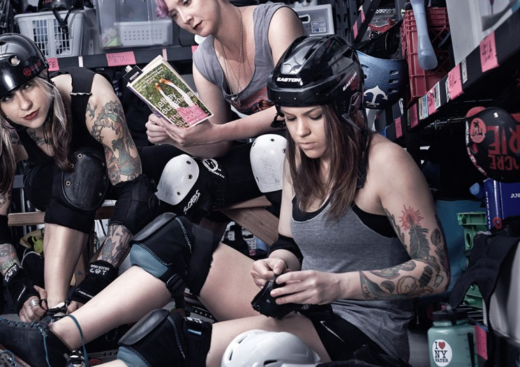 Guzman_Virgin Suicides roller derby