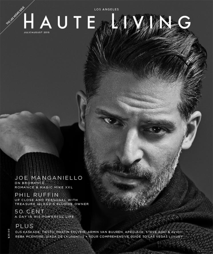 Nino Muñoz_Joe Manganiello_Haute Living cover