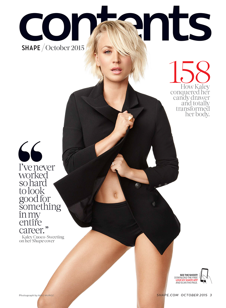 Image result for kaley cuoco cover