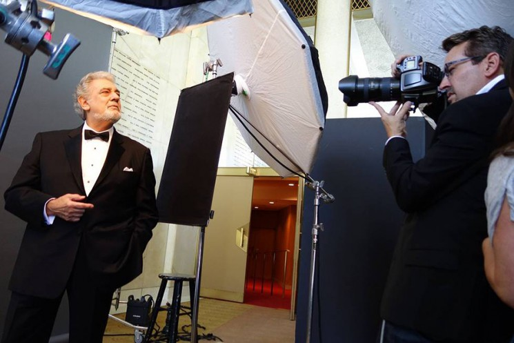 Art Streiber_Placido Domingo BTS 1