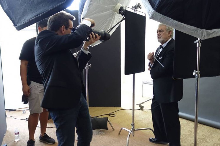 Art Streiber_Placido Domingo BTS 3