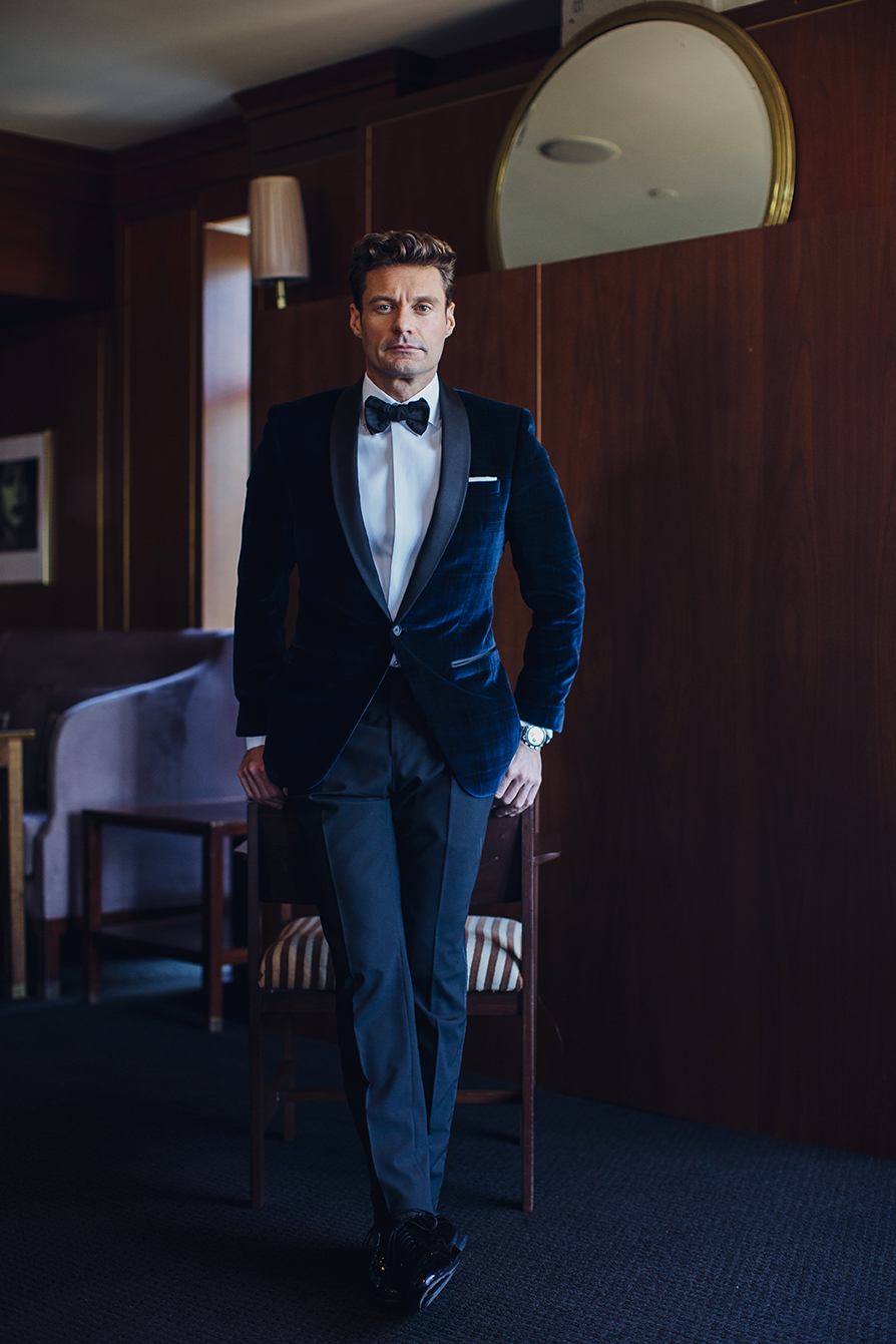 Brinson Banks Photograph Ryan Seacrest For The New York