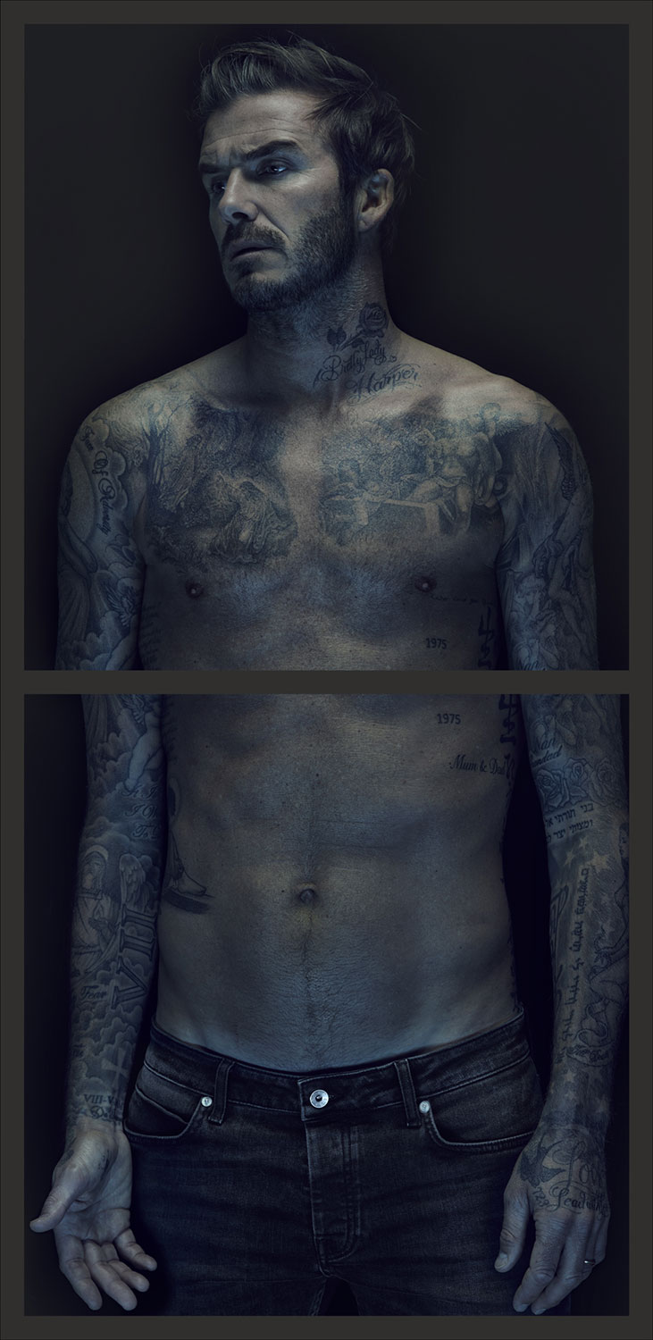 See Nadav Kander S Masterful Portraits Of Sports Icon David Beckham Created For An Upcoming