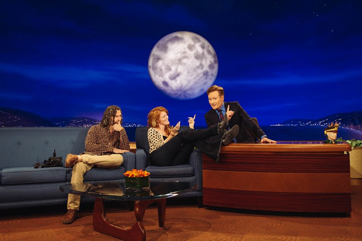 Brinson+Banks with Conan O'Brien