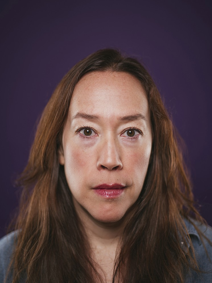 Movie and TV director Karyn Kusama. Photo by Brinson+Banks for The New York Times.