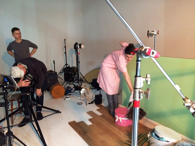Jason Hindley_Ted Baker BTS 2
