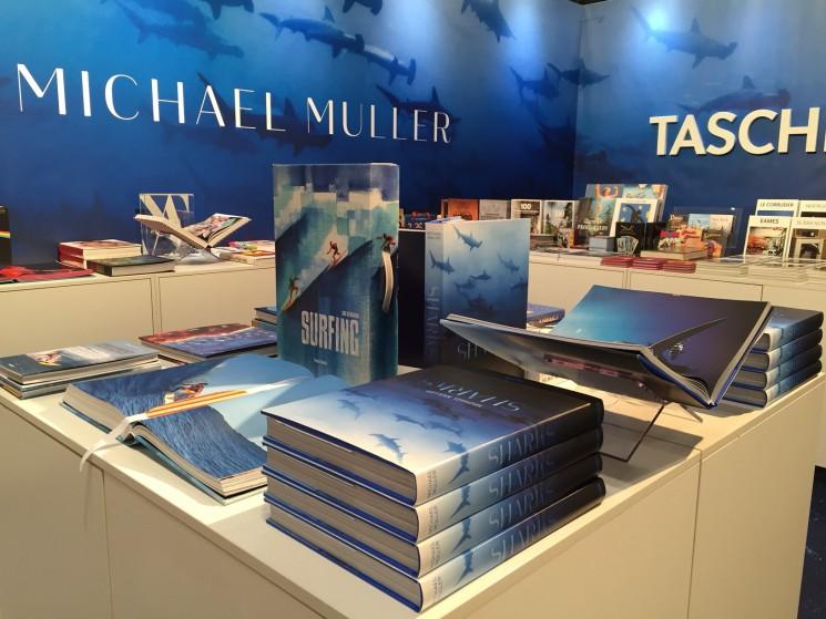 Michael Muller_Taschen booth