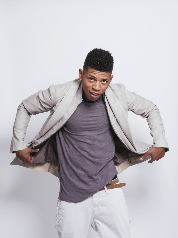 LOS ANGELES, CA - March 16: Bryshere Gray, also known by his stage name, Yazz The Greatest, is an American actor and rapper, best known for his role as Hakeem Lyon in the Fox primetime musical drama television series Empire. (Photo by David Walter Banks)