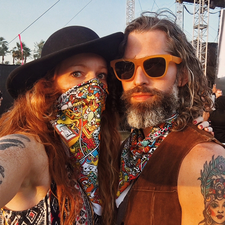 Brinson+Banks_Coachella selfie