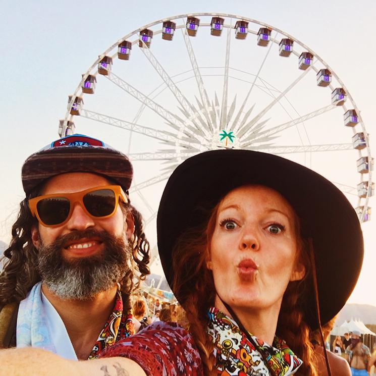 Brinson+Banks_Coachella_Ferris wheel selfie