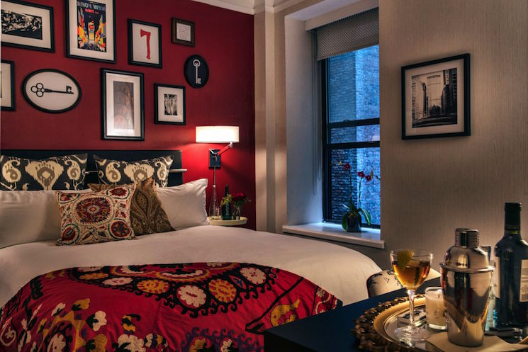 Redbury New York_guest room