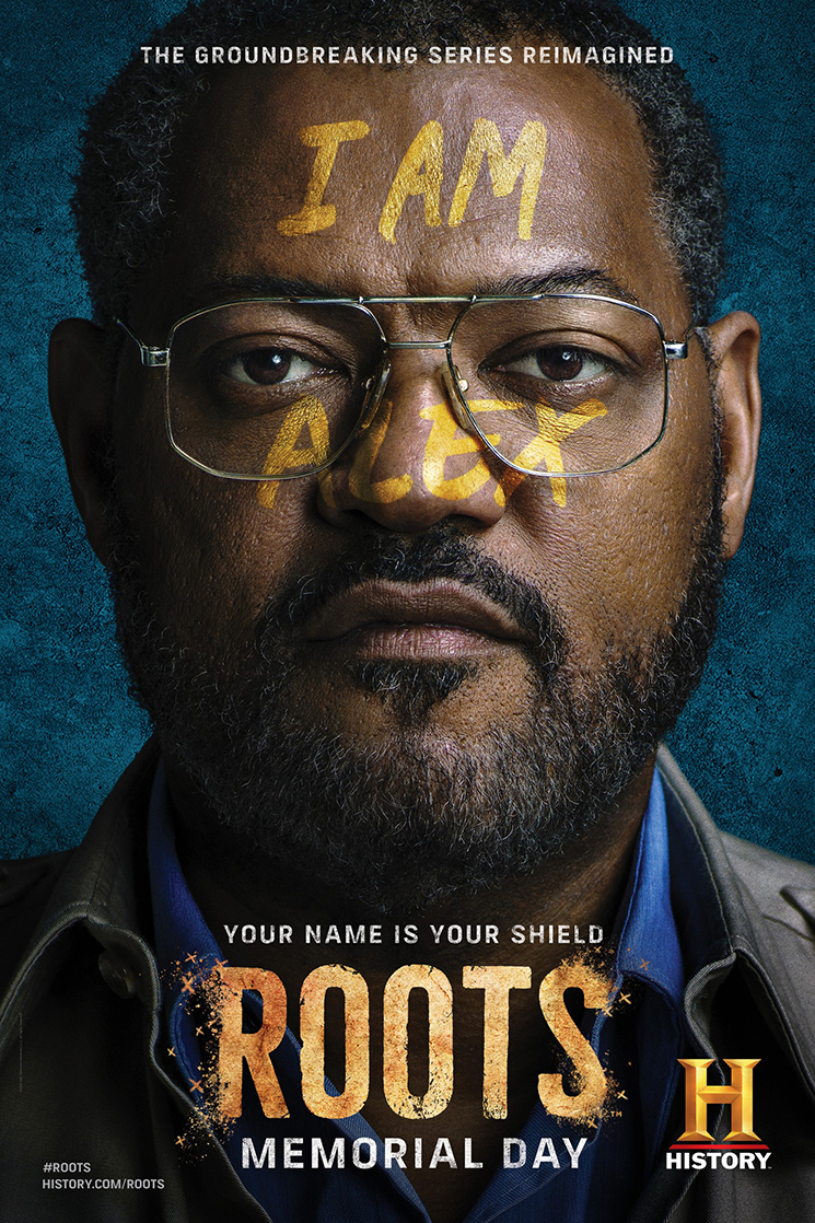 Kwaku Alston_Roots_Laurence Fishburne