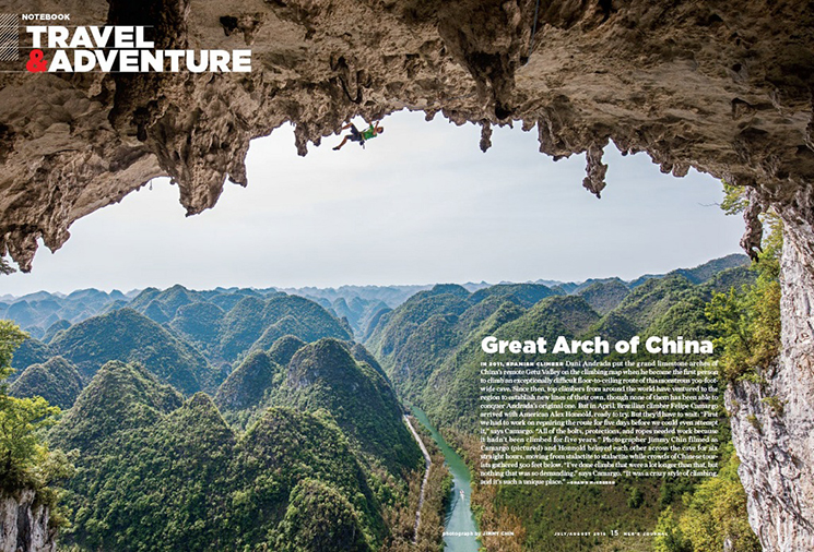 Jimmy Chin_Great Arch of China