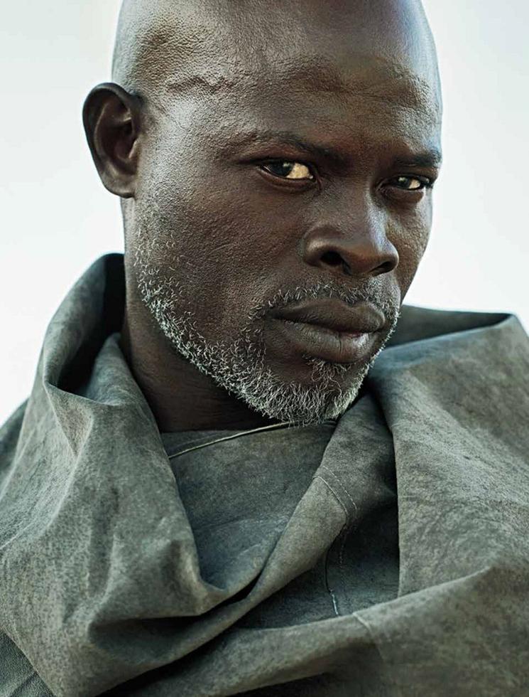 Kwaku Alston Photographs Actor Djimon Hounsou And Directs