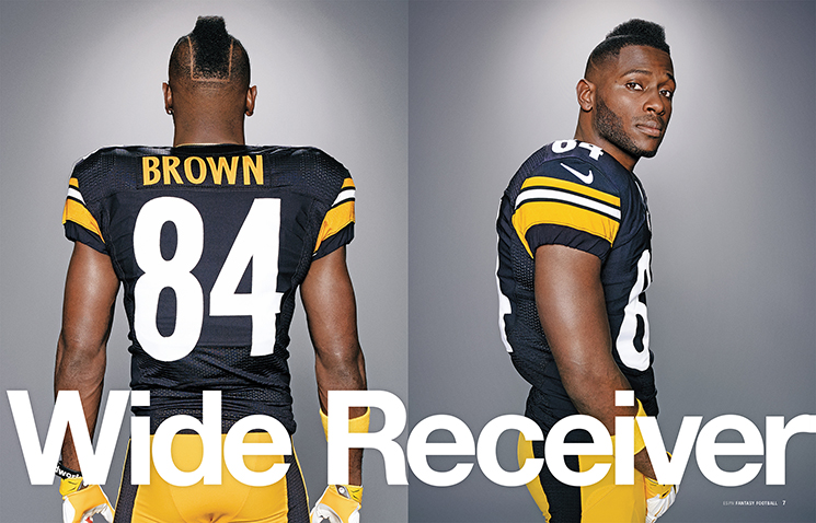 Art Streiber On Photographing Pittsburgh Steelers Wide Receiver