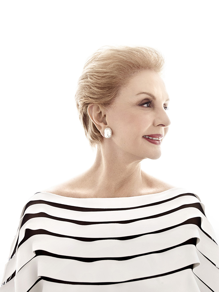 Art Streiber_Carolina Herrera on white