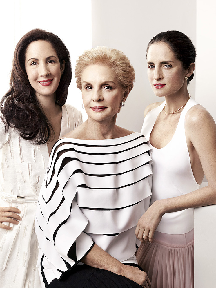 Art Streiber_Carolina Herrera with daughters