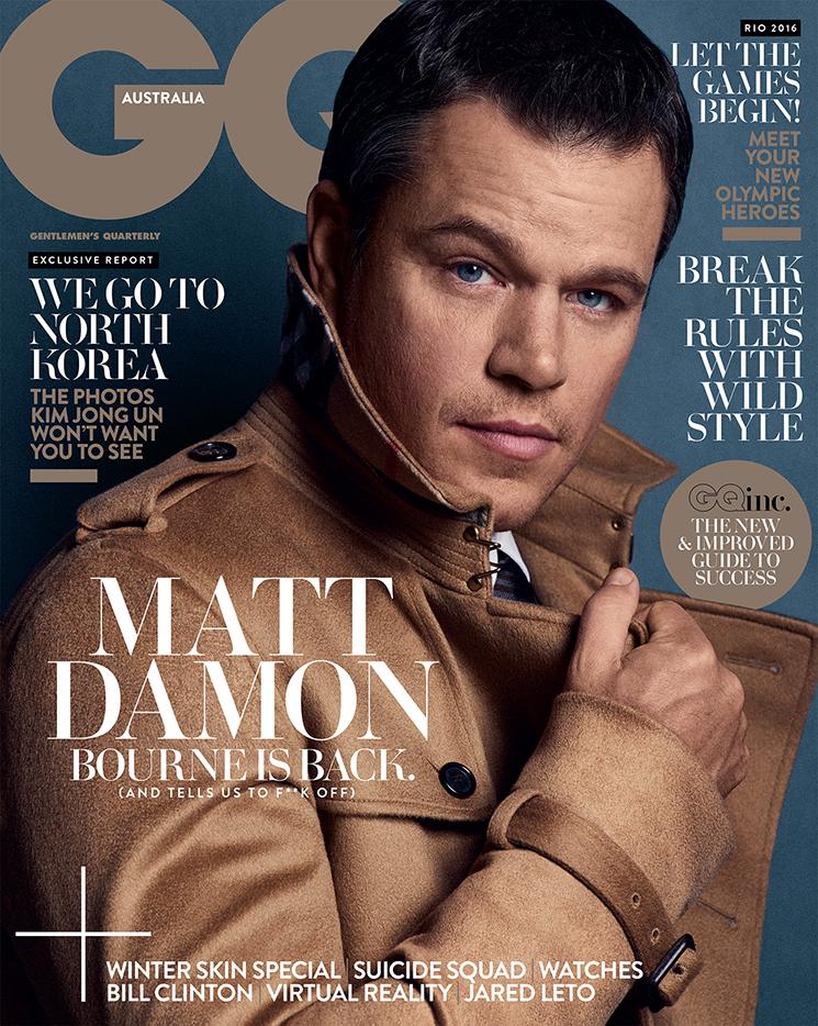 Nino Muñoz_Matt Damon_GQ