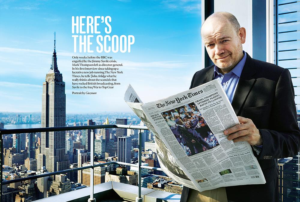 Resultado de imagen para mark thompson the new york times
