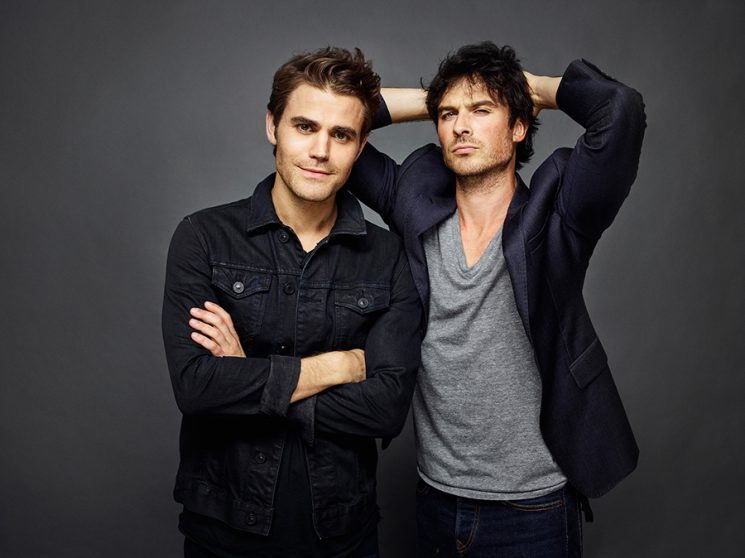 The Vampire Diaries Paul Wesley and Ian Somerhalder Comic-Con 2016 Day 3 - July 23, 2016 – San Diego, CA Photograph by Matthias Clamer