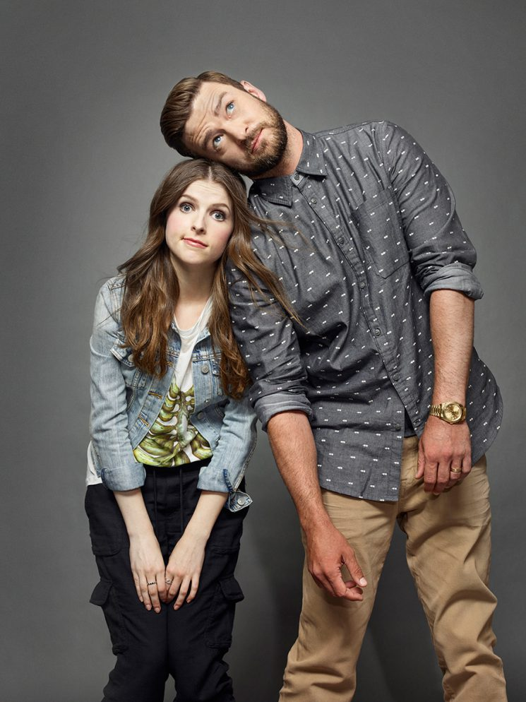 Trolls ANNA KENDRICK (L) and JUSTIN TIMBERLAKE Comic-Con 2016 Day 1 - July 21, 2016 – San Diego, CA Photograph by Matthias Clamer