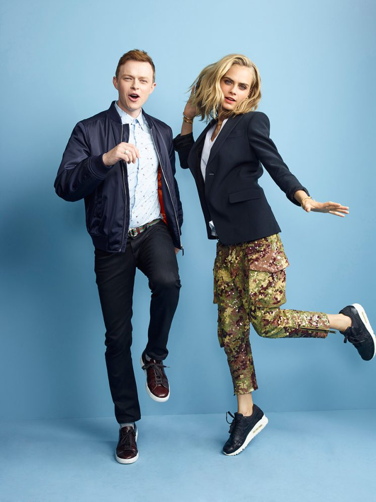 VALERIAN AND THE CITY OF A THOUSAND PLANETS DANE DEHAAN (L) and CARA DELEVINGNE Comic-Con 2016 Day 1 - July 21, 2016 – San Diego, CA Photograph by Matthias Clamer
