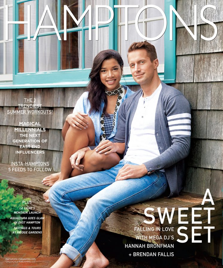 Hannah Bronfman and Brendan Ellis, both of whom have successful careers as international DJs. Photo by Melanie Acevedo for Hamptons.