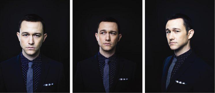 Michael Muller_Joseph Gordon_Levitt triptych