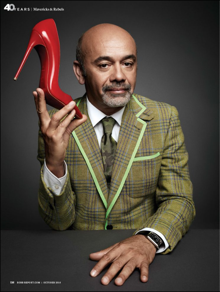 Art Streiber photographs French footwear designer ... Christian Louboutin