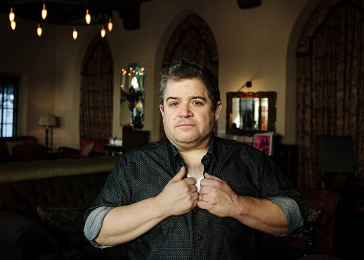 Comedian Patton Oswalt poses for a portrait at the Chateau Marmont in Los Angeles, California October 14, 2016. Photo by Kendrick Brinson