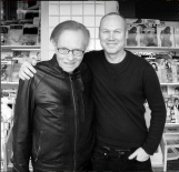 Uwe Duettmann with Larry King in LA.